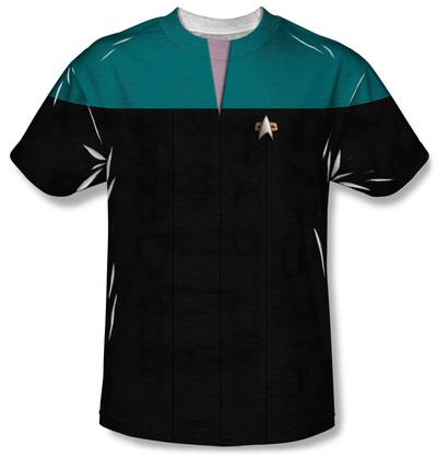 Star Trek Voyager - Command Uniform Costume Tee Sublimated
