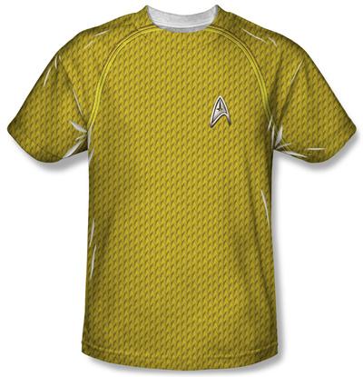 Youth: Star Trek - Command Uniform Costume Tee T-shirts