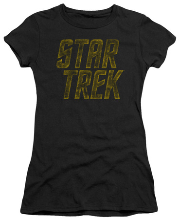 Juniors: Star Trek - Distressed Logo Shirts