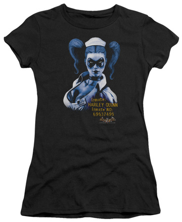Juniors: Batman Arkham Asylum - Arkham Harley Quinn Shirts