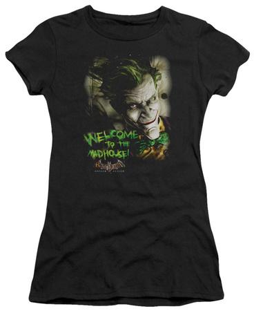 Juniors: Batman Arkham Asylum - Welcome To The Madhouse T-shirts