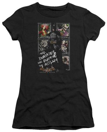 Juniors: Batman Arkham Asylum - Running The Asylum T-shirts