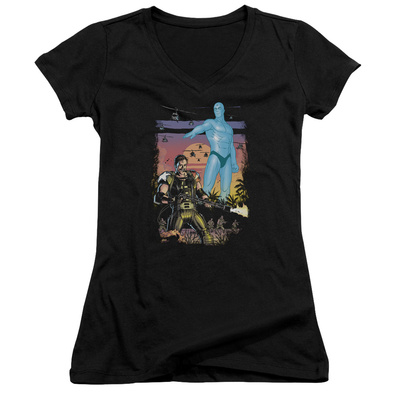 Juniors: Watchmen - Winning The War V-Neck Womens V-Necks