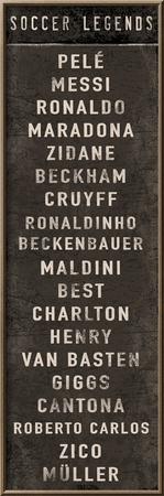 Soccer Legends Prints