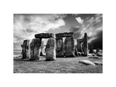 Stonehenge - Abstract of Stones - Wiltshire - UK - England - United Kingdom - Europe Photographic Print by Philippe Hugonnard