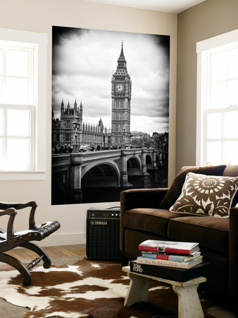 Wall Mural - Big Ben from across the Westminster Bridge - London - UK - England - United Kingdom Wall Mural by Philippe Hugonnard
