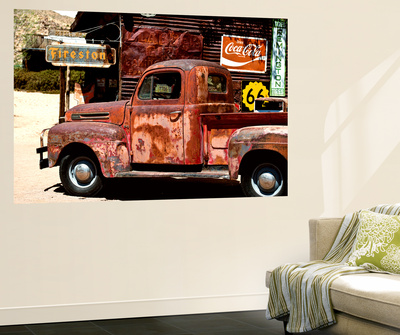 Wall Mural - Truck of Route 66 - Gas Station - Arizona - USA Wall Mural by Philippe Hugonnard