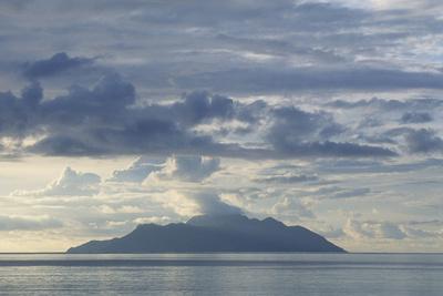 Silhouette Island Photographic Print