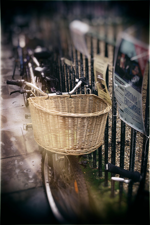 Bicycles in Cambridge Photographic Print by Tim Kahane
