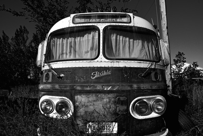 Old Bus Photographic Print by Rip Smith