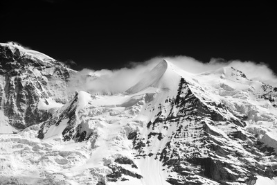 Jungfrau Top of Europe Photographic Print by Philippe Sainte-Laudy