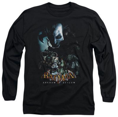 Long Sleeve: Batman Arkham Asylum - Five Against One Long Sleeves