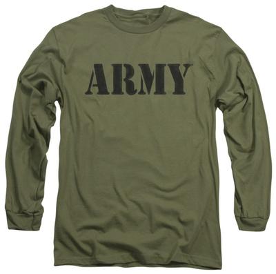 Long Sleeve: Army - Army Long Sleeves