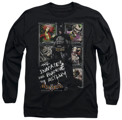 Long Sleeve: Batman Arkham Asylum - Running The Asylum Long Sleeves