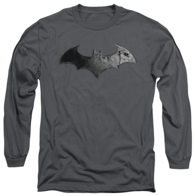 Long Sleeve: Batman Arkham City - Bat Logo Long Sleeves