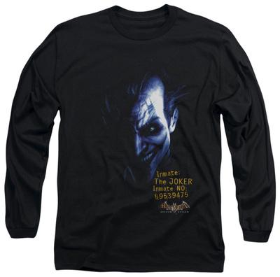 Long Sleeve: Batman Arkham Asylum - Arkham Joker Long Sleeves