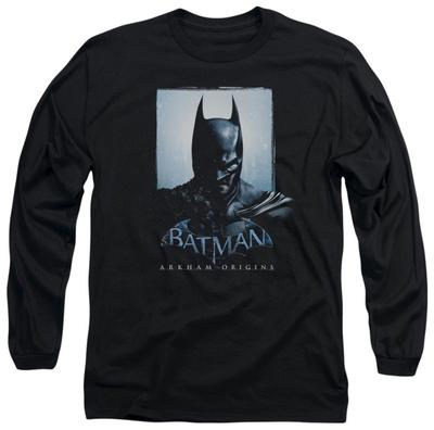 Long Sleeve: Batman Arkham Origins - Two Sides Long Sleeves