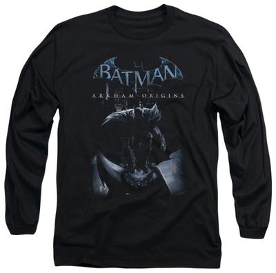 Long Sleeve: Batman Arkham Origins - Perched Cat Long Sleeves