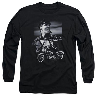 Long Sleeve: Elvis Presley - Motorcycle Shirts