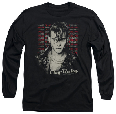 Long Sleeve: Cry Baby - Drapes & Squares Long Sleeves