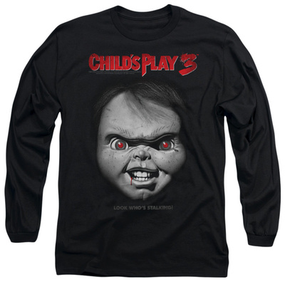 Long Sleeve: Child's Play 3 - Face Poster Long Sleeves