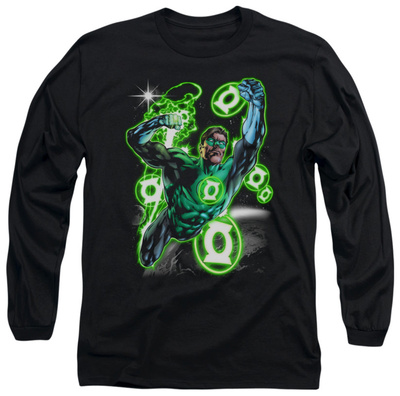 Long Sleeve: Green Lantern – Earth Sector Shirts