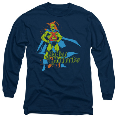 Long Sleeve: Martian Manhunter - Martian Manhunter Long Sleeves