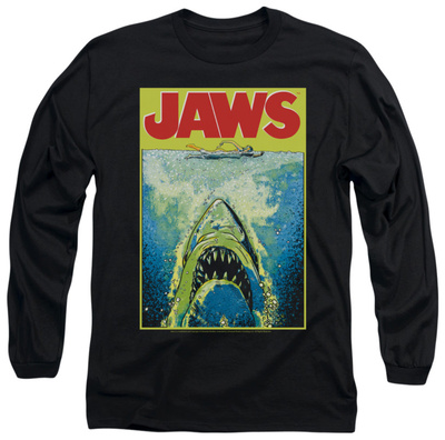 Long Sleeve: Jaws - Bright Jaws T-shirts