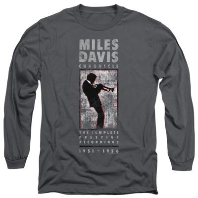 Long Sleeve: Miles Davis - Miles Silhouette Long Sleeves