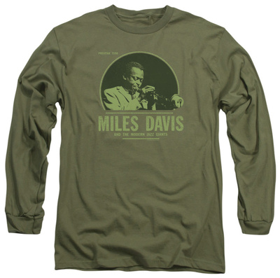 Long Sleeve: Miles Davis - The Green Miles Long Sleeves