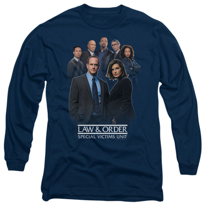 Long Sleeve: Law & Order: SVU - Team T-shirts