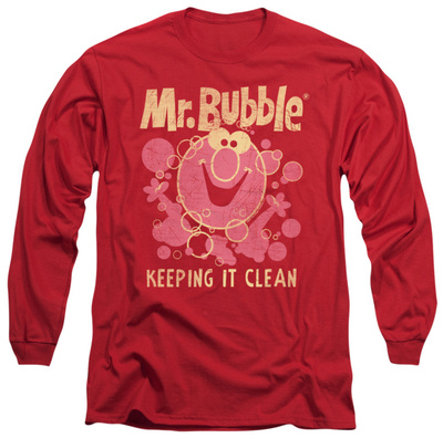 Long Sleeve: Mr Bubble – Keeping It Clean Shirt
