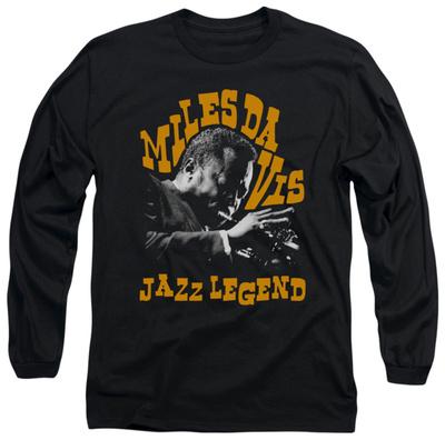 Long Sleeve: Miles Davis - Jazz Legend Long Sleeves