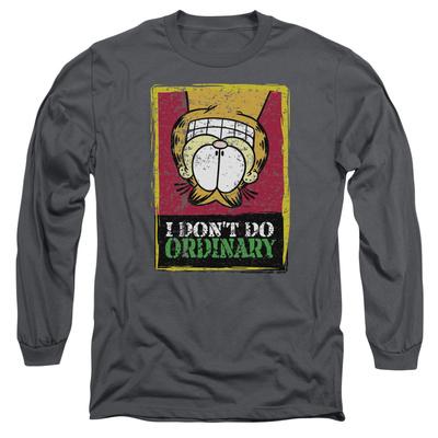 Long Sleeve: Garfield - I Don't Do Ordinary T-shirts