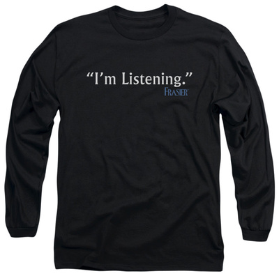 Long Sleeve: Frasier - I'm Listening Long Sleeves