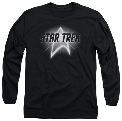 Long Sleeve: Star Trek - Glow Logo T-shirts