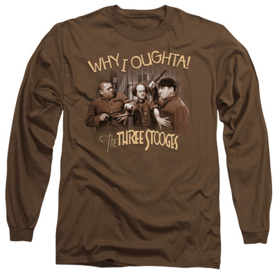 Long Sleeve: The Three Stooges - Why I Oughta T-shirts