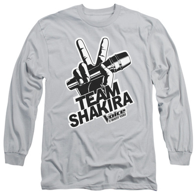 Long Sleeve: The Voice - Shakira Logo Long Sleeves