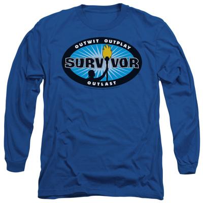 Long Sleeve: Survivor - Blue Burst Long Sleeves