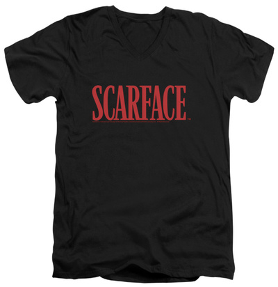 Scarface - Logo V-Neck T-Shirt