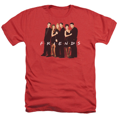 Friends - Cast In Black T-Shirt