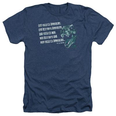 Jurassic Park - God Creates Dinosaurs T-shirts