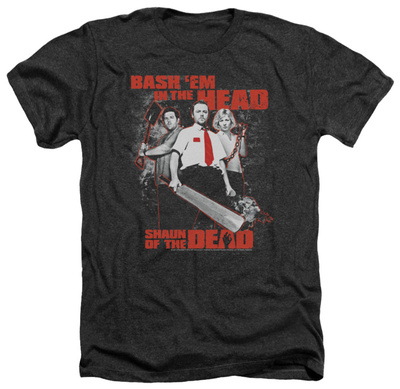 Shaun Of The Dead - Bash Em T-Shirt!