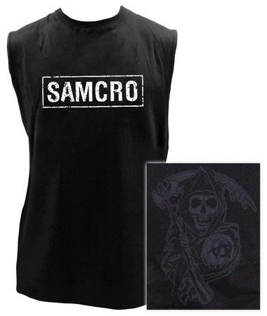 Sons of Anarchy - SAMCRO Sleeveless Tee T-shirts