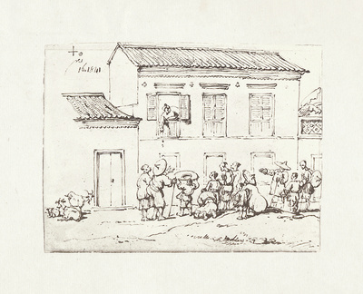 Chinnery V Premium Giclee Print by George Chinnery