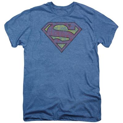 Superman - Tattered Shield (premium) T-shirts