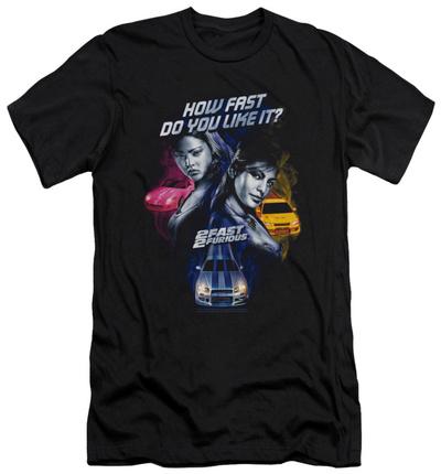 2 Fast 2 Furious - Fast Women (slim fit) Shirts