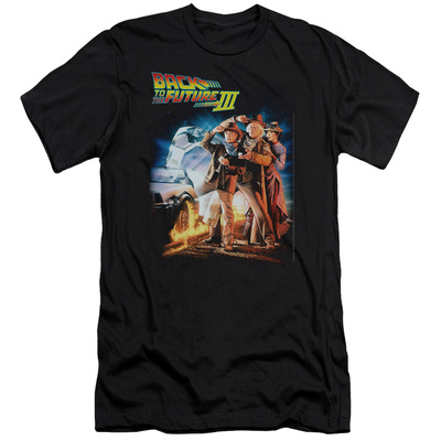 Back To The Future III - Poster (slim fit) Shirts