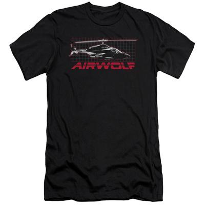 Airwolf - Grid (slim fit) T-Shirt