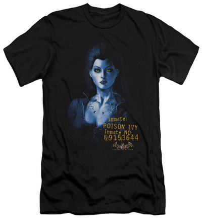 Batman Arkham Asylum - Arkham Poison Ivy (slim fit) T-shirts